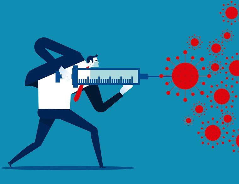 邱文達醫師提醒,新冠疫苗對變種病毒仍有效,應提升疫苗施打率,克服謠言造成的疫苗猶...