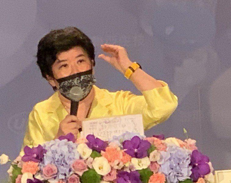 聯亞生技董事長王長怡。記者謝柏宏/攝影 資料照片