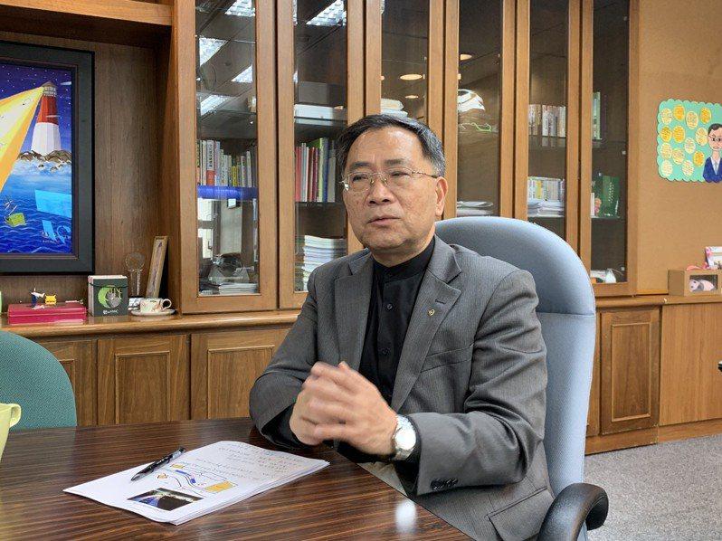 北市副市長蔡炳坤。聯合報系資料照片/記者張曼蘋攝影