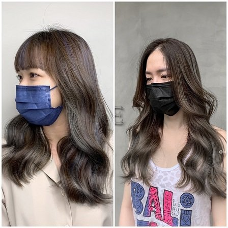 今年秋冬流行的髮色多以深色調為底色,再以3D挑染技術(Highlight)不規則...
