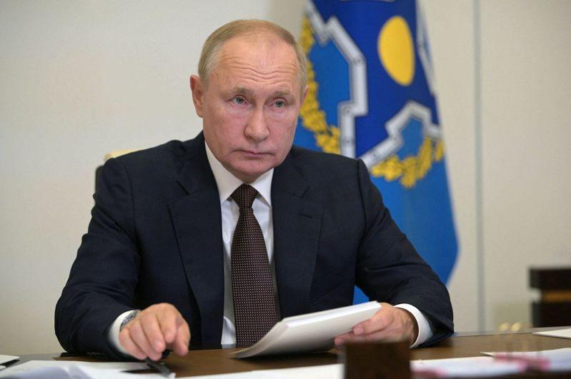 俄羅斯總統普亭。 法新社