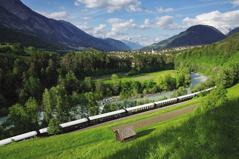 ▲傳奇豪華列車 Venice Simplon-Orient-Express。  圖:Belmond、Petrie PR HK/提供