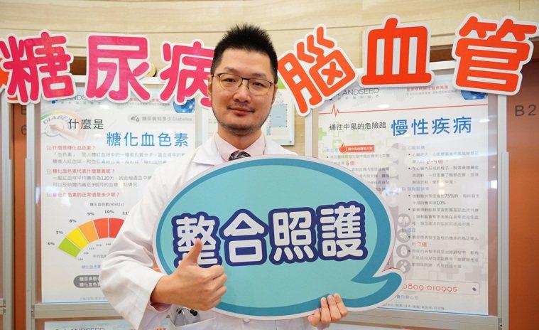 李振華醫師提醒糖尿病患者罹失智症風險高。記者鄭國樑/翻攝