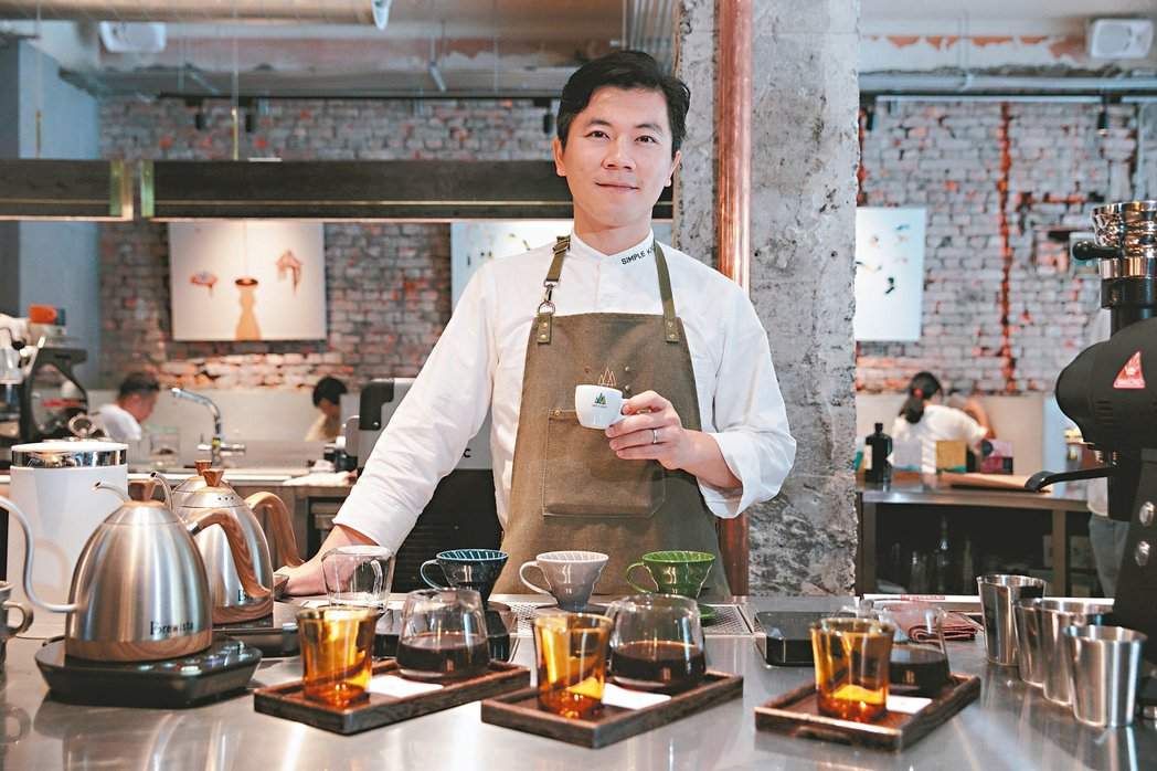 Simple Kaffa 興波咖啡創辦人吳則霖。圖/本報資料照片。