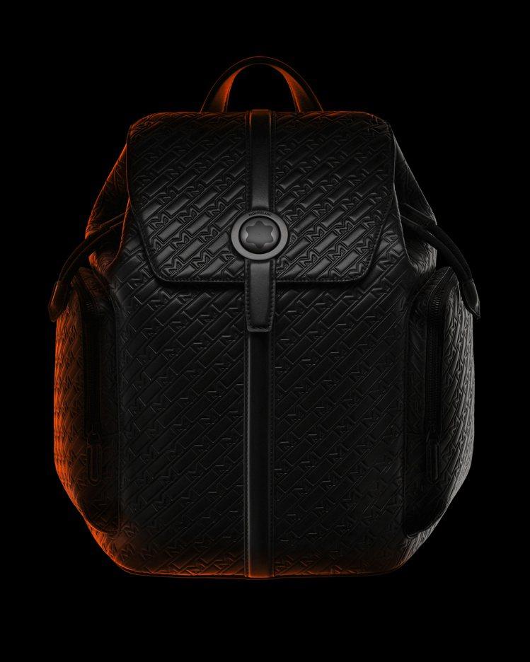 萬寶龍M_Gram 4810系列UltraBlack後背包,55,200元。圖 ...