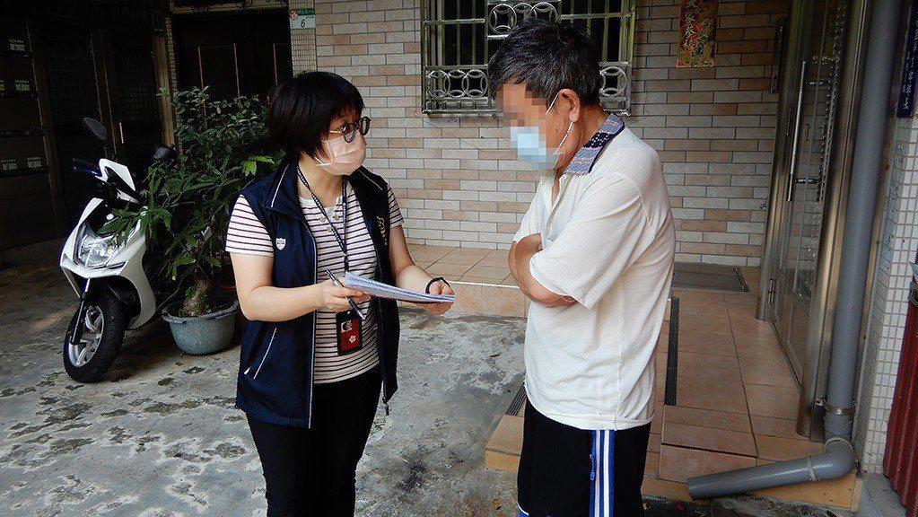 台北分署執行防疫裁罰案。圖/台北分署提供