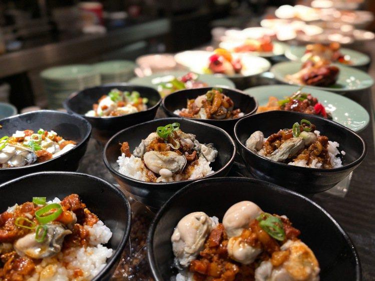 澎湖牡蠣飯鮮美吸睛。圖/台北喜來登提供
