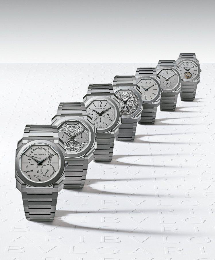 BVLGARI Octo Finissimo系列超薄腕表自2014年起以第七度打...