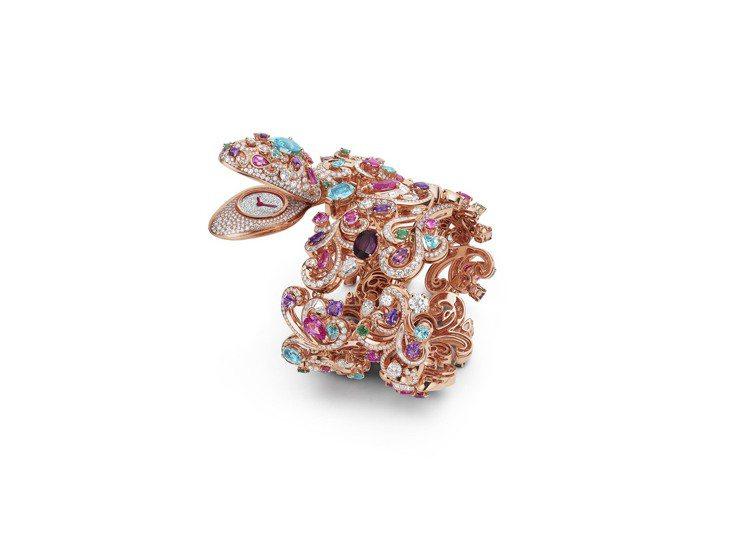 BVLGARI Serpenti Barocko頂級珠寶腕表,價格店洽,全球僅一...