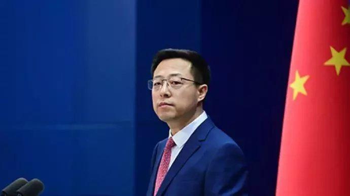 大陸外交部發言人趙立堅。圖/澎湃新聞