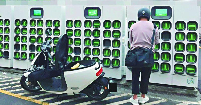 Gogoro雖在台灣已是電動機車龍頭,但至今仍無法獲利,也反映Gogoro並非外界想得那麼風光。圖/聯合報系資料照片