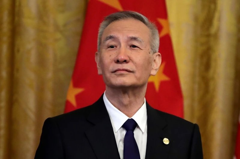 大陸國務院副總理劉鶴。圖/美聯社