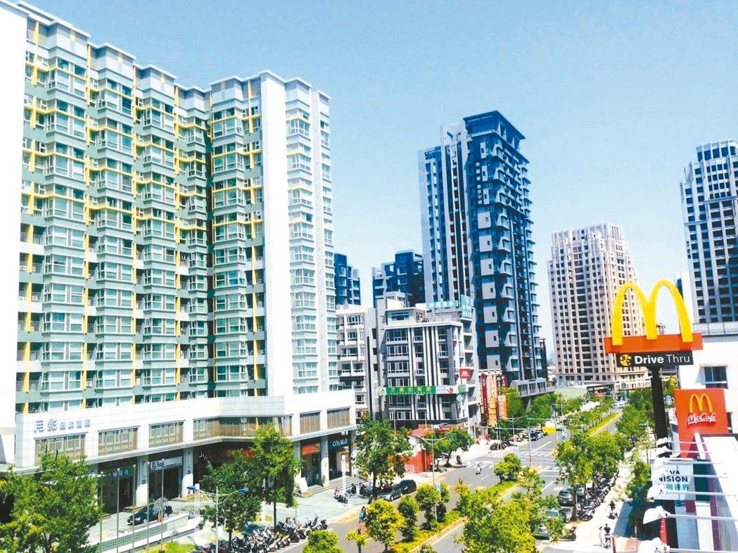 新竹關埔重劃區在台積電等科技廠房帶動下,生活機能發展成熟。本報資料照片