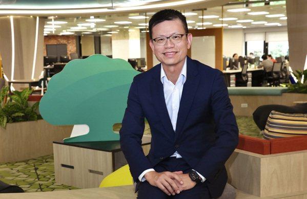 國泰世華銀行總經理李偉正。記者林俊良/攝影