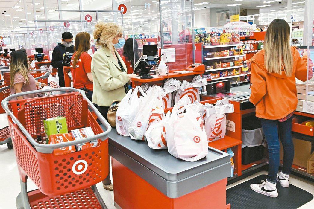 美國8月零售銷售意外躍增,但Delta病毒蔓延與供應鏈瓶頸仍是隱憂。 (美聯社...