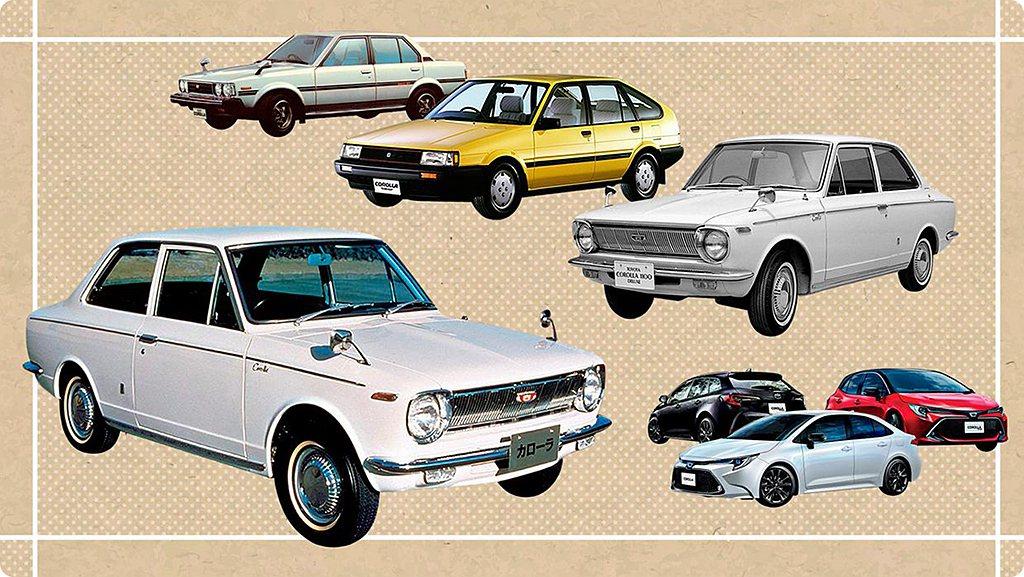 為慶賀Toyota Corolla車系全球累積銷售達5,000萬輛成就,原廠特別...