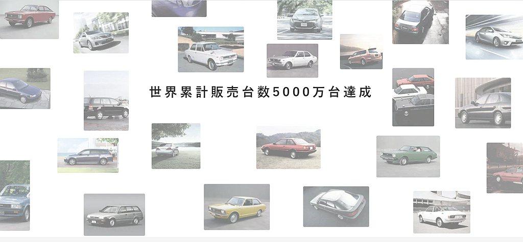 Toyota Corolla車系不僅已經發展到第12世代,於全球各市場的累積銷售...