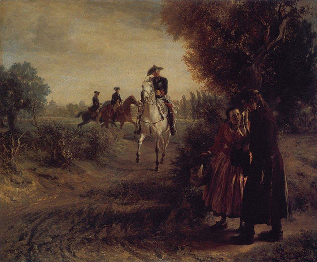 19世紀重要畫家門采爾(Adolph von Menzel, 1815-1905...