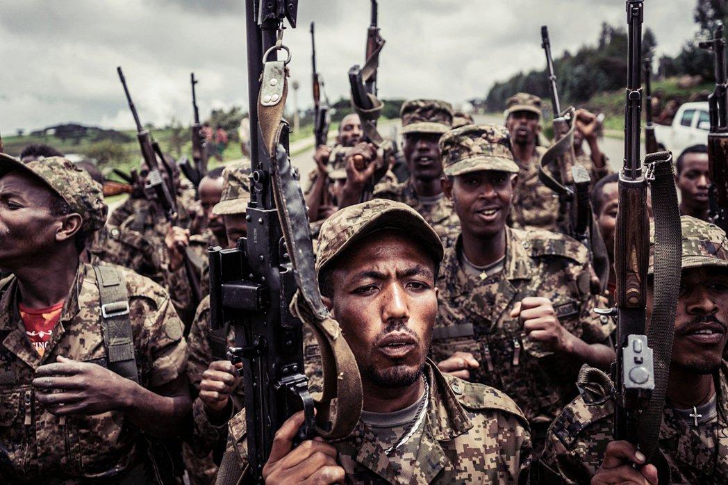格雷內戰11月開打之際,阿姆哈拉族地方民兵會與國防軍聯合、被指控在提格雷州犯下各...