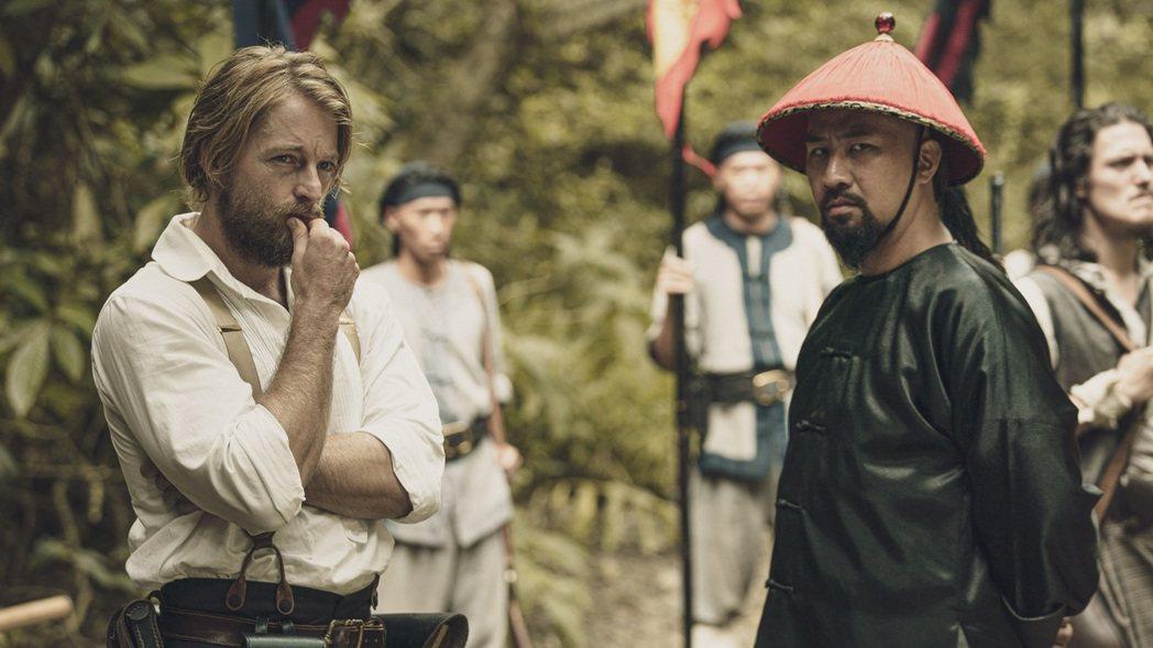 《斯卡羅》中男主角之一的李仙得,由法籍藝人法比歐飾演。 圖/取自公視