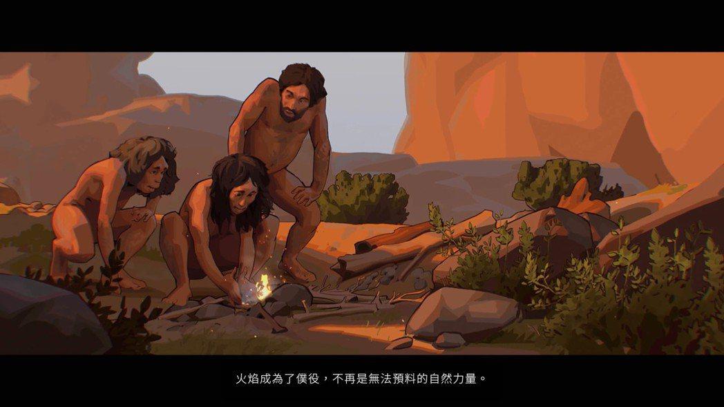 人類從已知用火開始