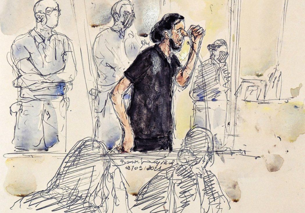 本回巴黎是記大審的頭號要犯,31歲的法國籍恐怖份子——薩拉赫.阿布都薩蘭(Sal...