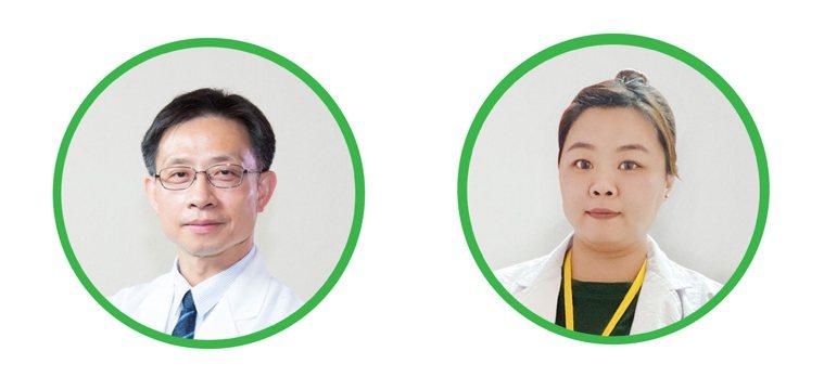 圖/童綜合醫院風濕免疫科主任邱瑩明、護理師江宥筑