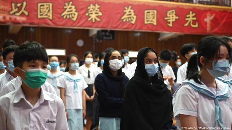 在《香港國安法》影響下,香港教育界正面對重大考驗。圖/德國之聲中文網