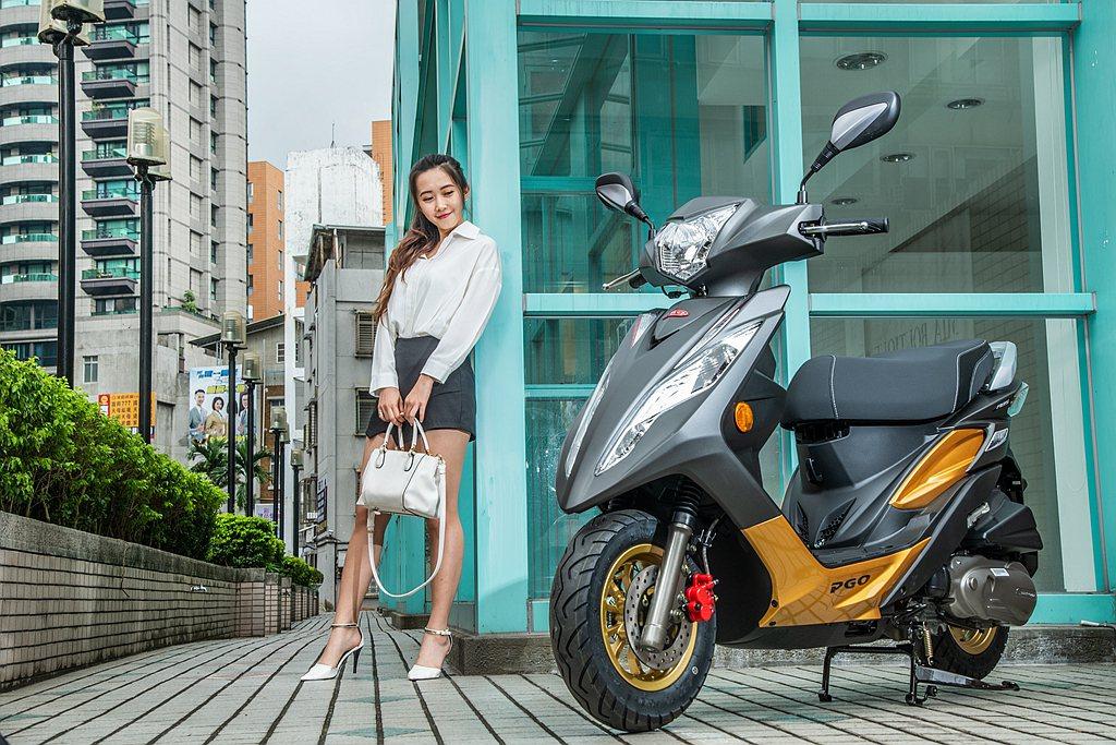 PGO BON 125 ABS兼具前衛美學、科技實用、輕巧好騎、省油環保、同級配...