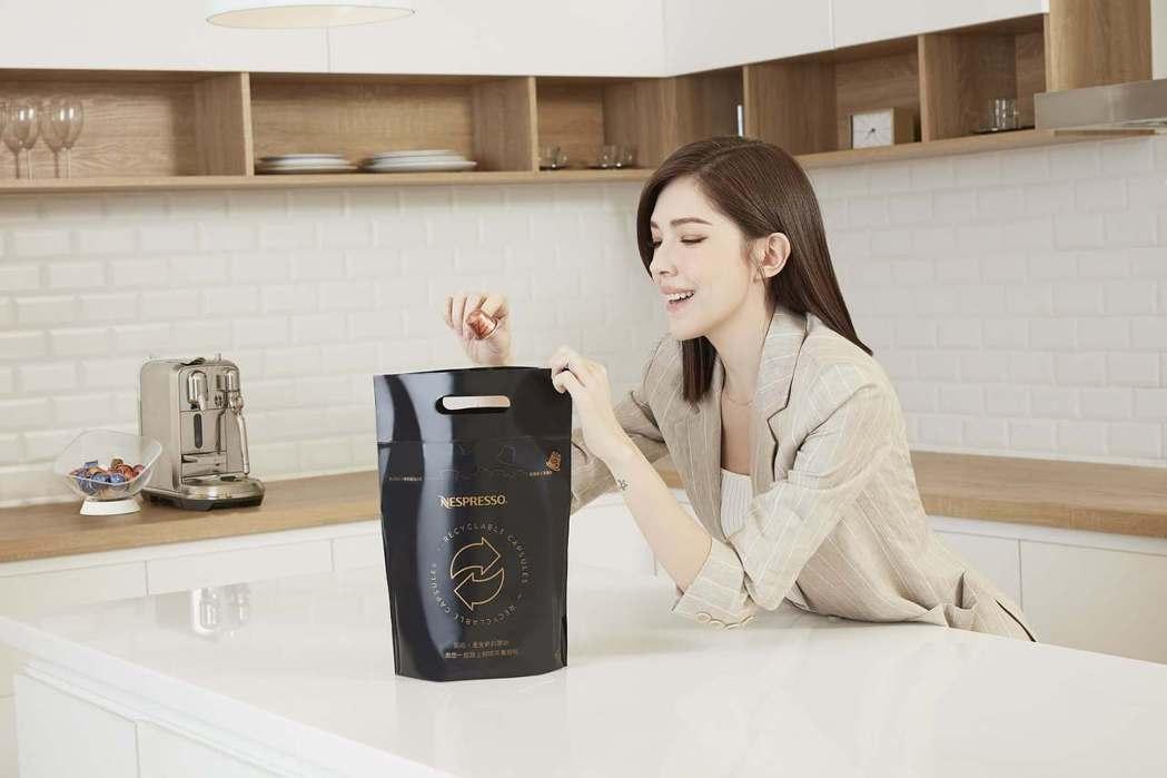 許瑋甯獲邀擔任Nespresso台灣首位咖啡永續大使,以自身行動作為典範,期盼帶