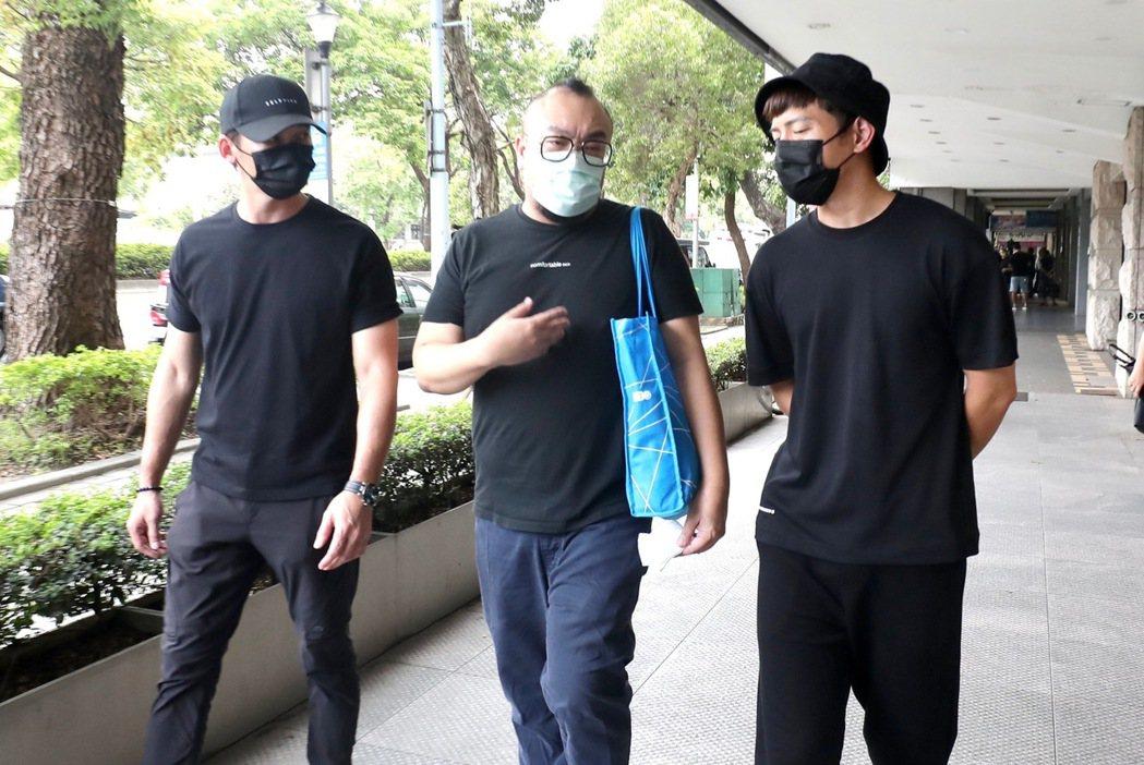 溫昇豪(左起)葉天倫丶宥勝。 圖/李政龍攝影