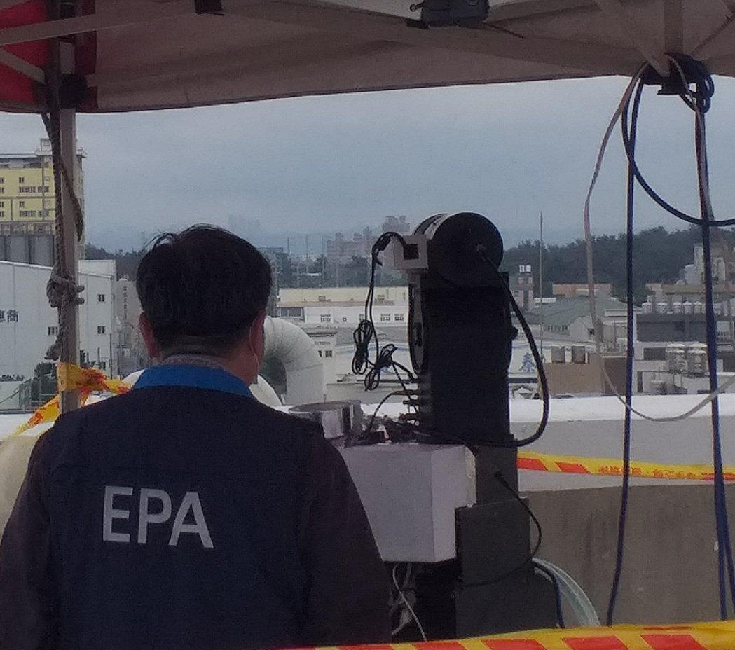 環工系許蕙琳老師與行政院環境保護署合作開發「管道排放污染智能影像辨識系統」。 崑...