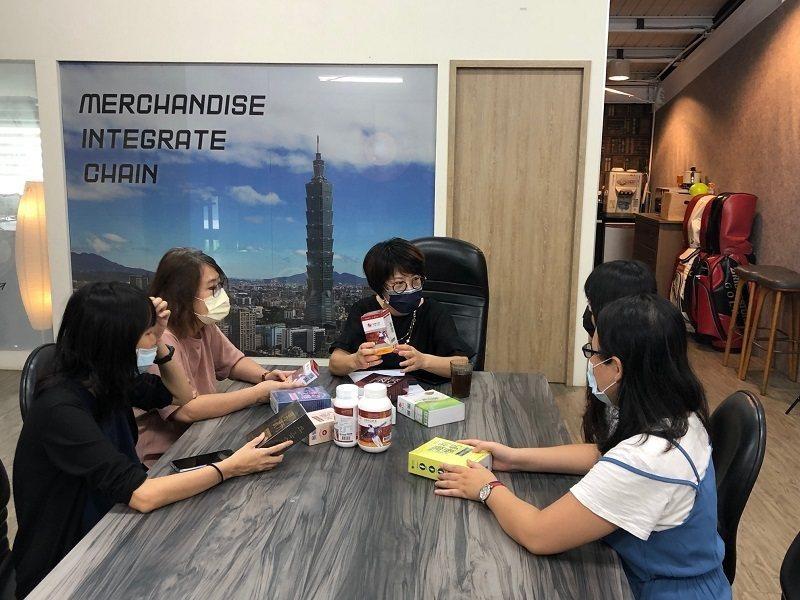永真生技團隊獲經濟部新南向市場創新行銷開發計畫廠商。 蔣佳璘/攝影