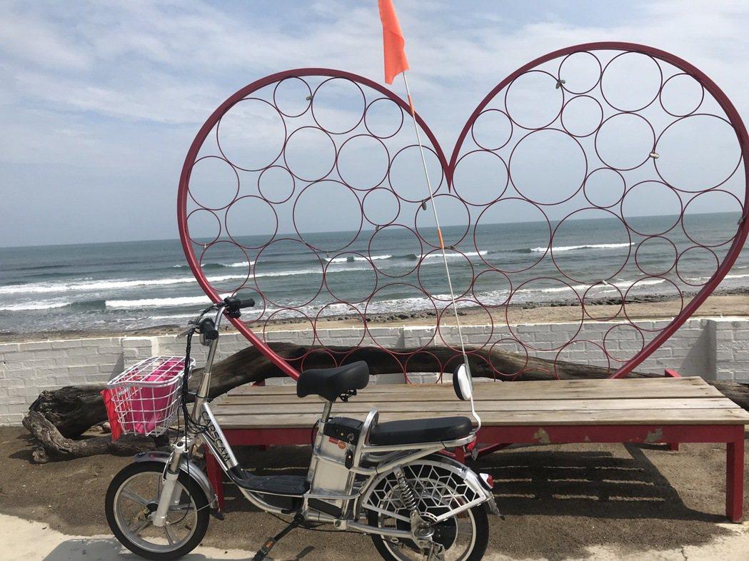此次遊程電動自行車與海灣綠洲餐廳無敵海景。