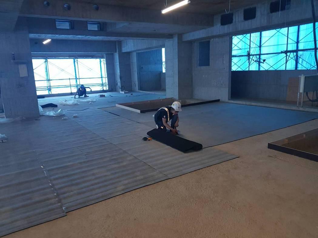旺帝Duracoustic靜音樓板墊廣泛用於各知名豪宅。  旺帝企業/提供