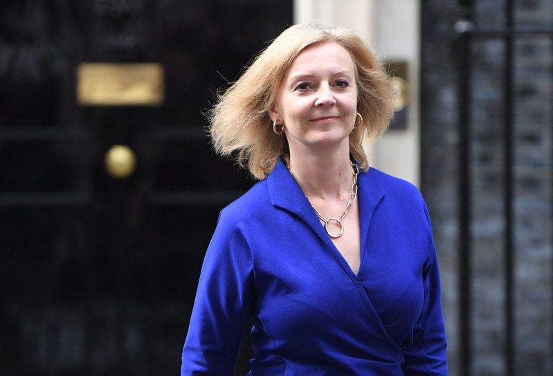46歲的特拉斯(Liz Truss)是英國史上第2位女性外交大臣。 歐新社