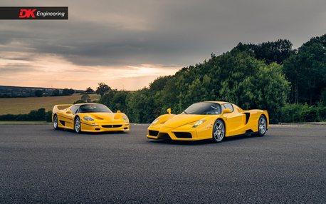 一次擁有兩輛經典法拉利Ferrari Enzo與F50的機會來了!