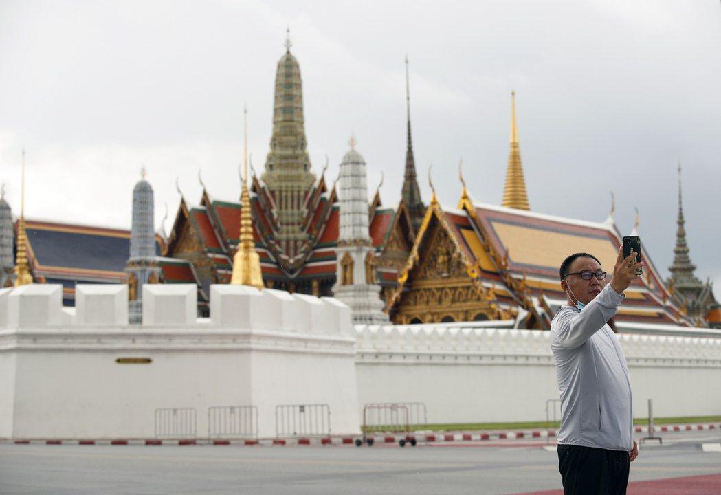 泰國曼谷知名觀光景點玉佛寺。   歐新社