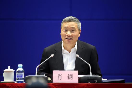 前中國證監會主席肖鋼。圖/取自新浪