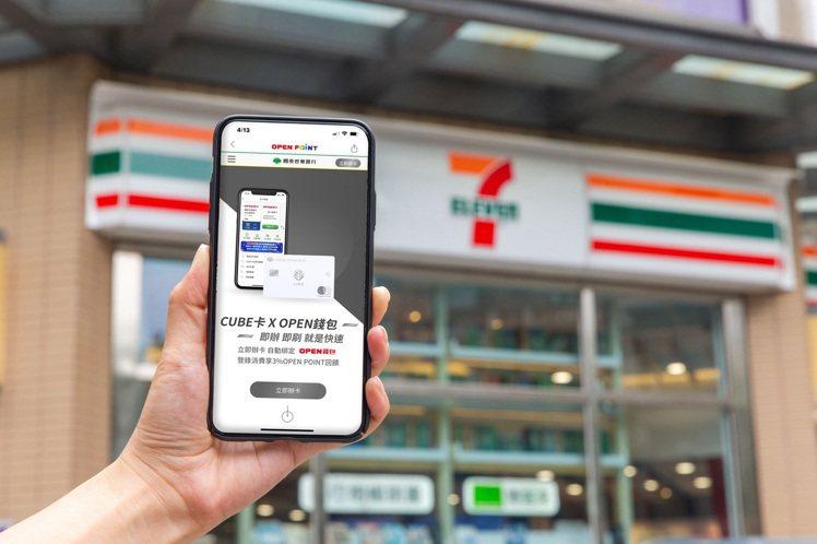 7-ELEVEN OPEN錢包推出「一鍵綁卡」服務,開啟OPEN POINT A...