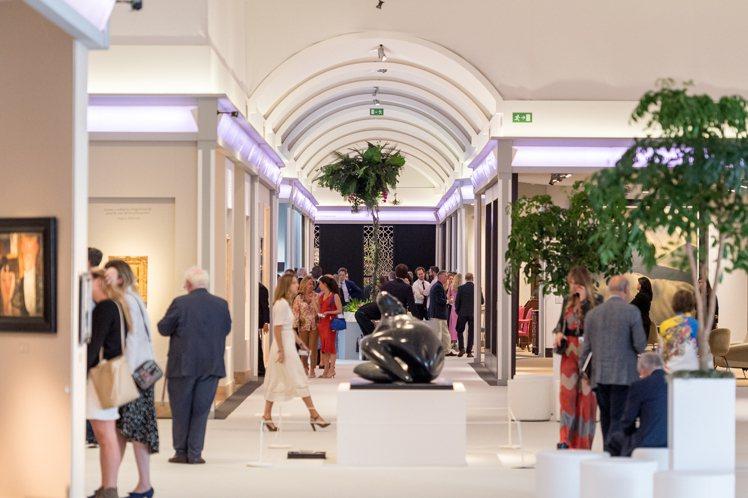 2018年Masterpiece London倫敦巨匠臻藏藝博會。圖/CINDY...