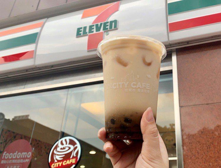 7-ELEVEN將於9月22日起於各門市推出CITY PEARL「冰黑糖珍珠燕麥...