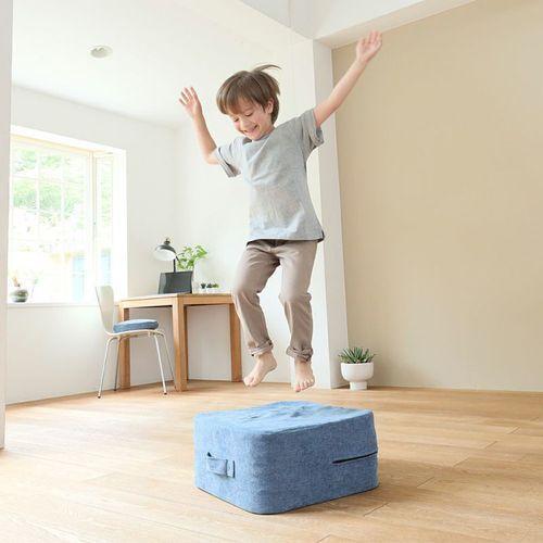 日本獨家引進塑身蹦蹦墊,讓居家運動更加時尚輕便 。圖/聯合數位文創提供