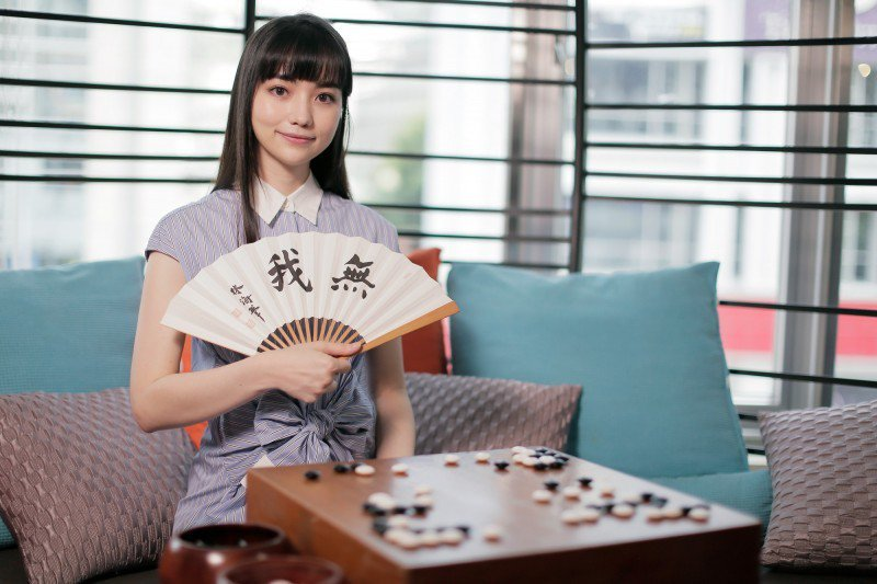 黑嘉嘉有「圍棋女神」的名號。圖/黑嘉嘉圍棋教室提供