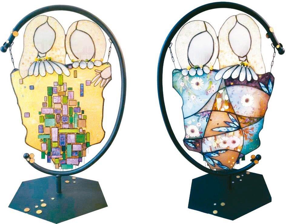 「記憶方塊」獲新竹美展「綜合媒材創作類」優選 。弦悅草/提供
