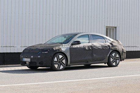 預計取代現有Ioniq 全新Hyundai IONIQ 6純電房車首次曝光!