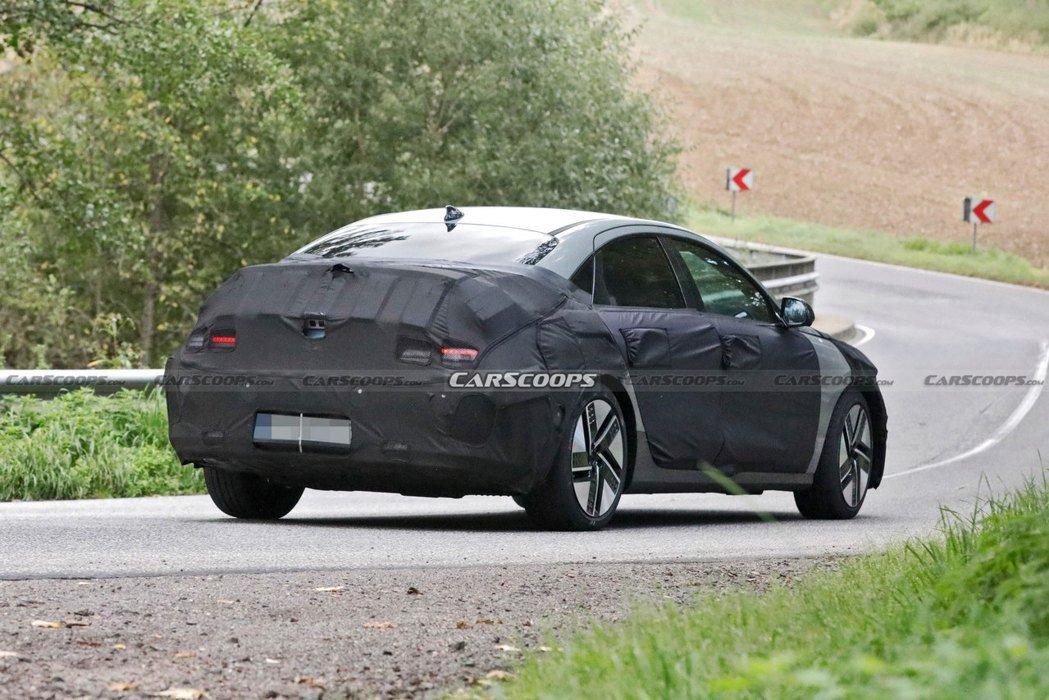 全新Hyundai IONIQ 6就是化Prophecy Concept概念車為...