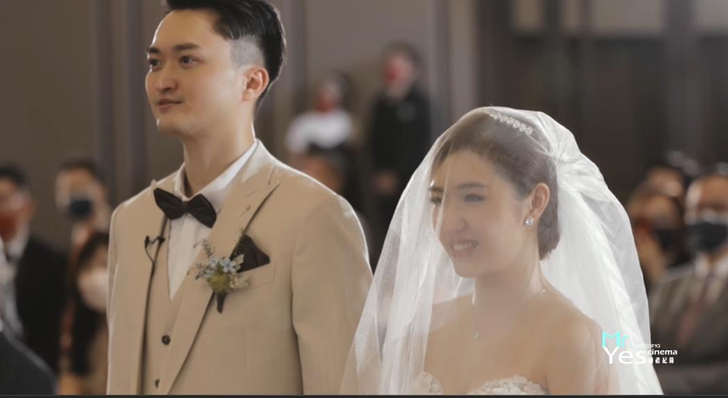 吳宗憲二女兒婚禮影片。 圖/擷自臉書/YES先生專業錄影團隊