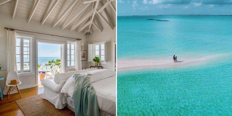 與世隔絕的Kamalame Cay簡直是小說家筆下的海角樂園。圖/取自(左)官網...
