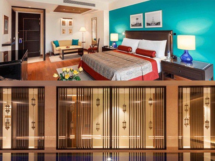 The Oberoi的客房保留些許印度色彩,SPA泳池為其景觀一大特色。圖/取自...